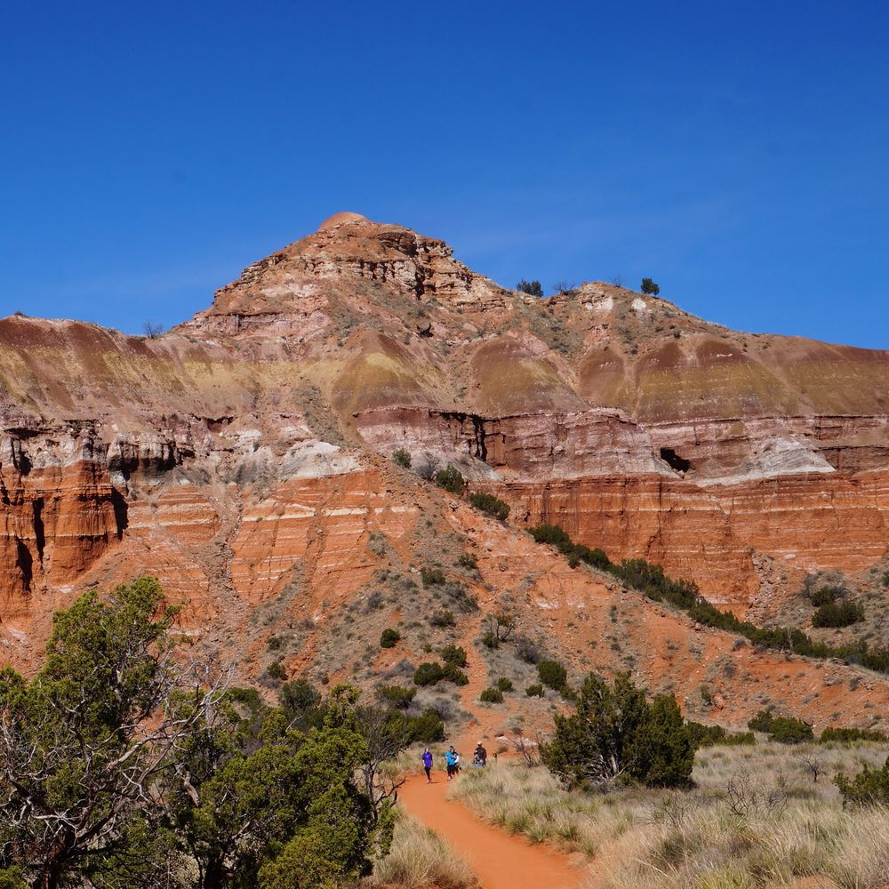 Lighthouse Trail at Palo Duro Canyon State Park