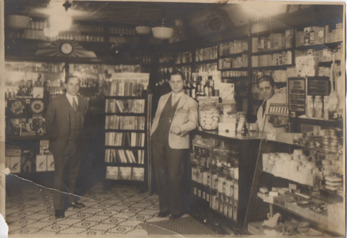 Longos Pharmacy, spanned two generations of pharmacists, from the early 1900-the 1960s.
