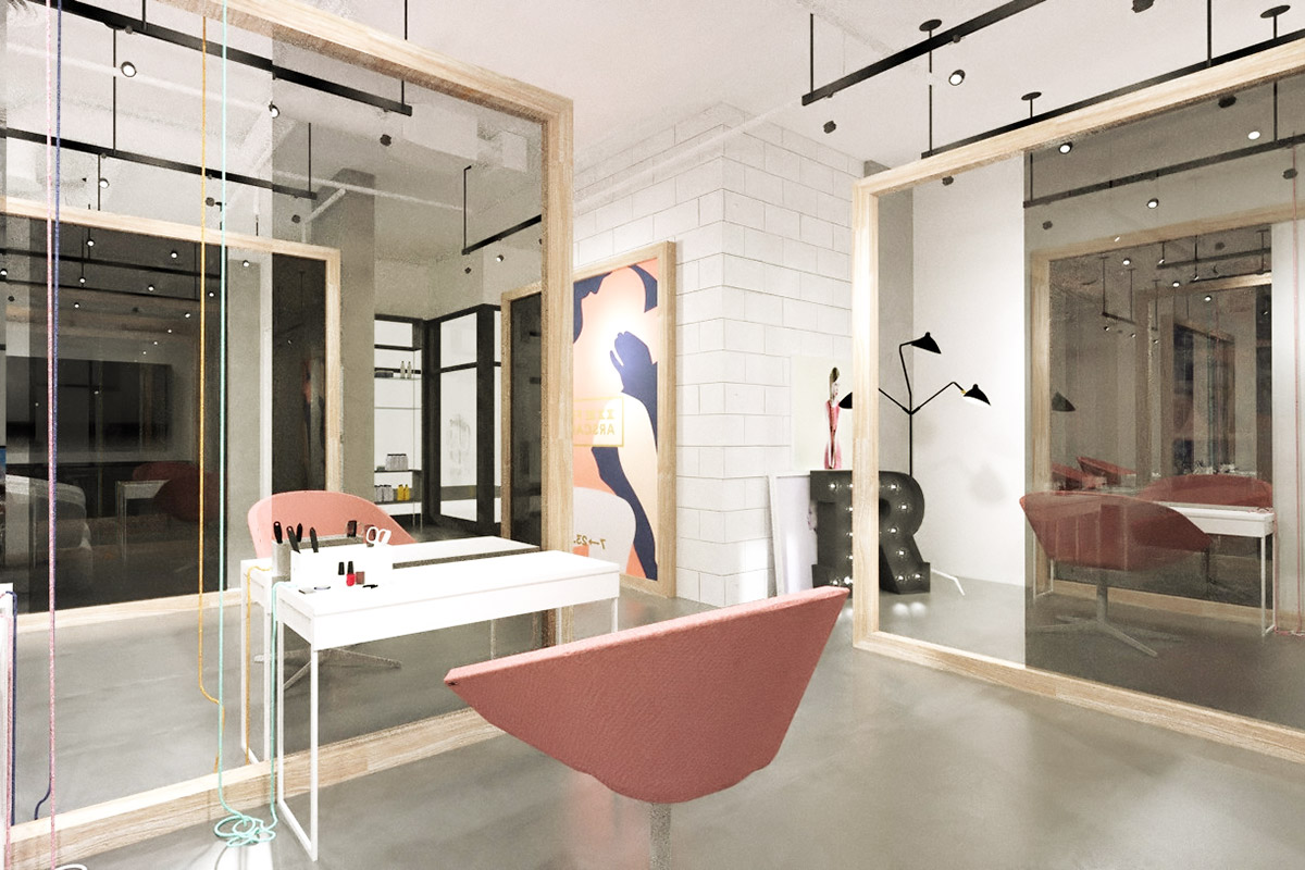 Beautiful salons design images amazing house design - Salon architecture ...