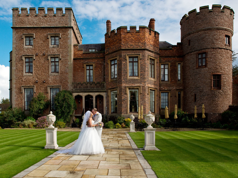 Rowton Castle Shropshire is a beautiful wedding venue in Shropshire