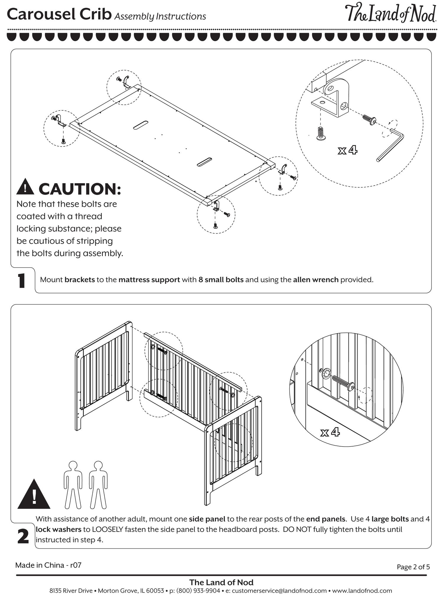 Assembly Instructions Christina Fehan
