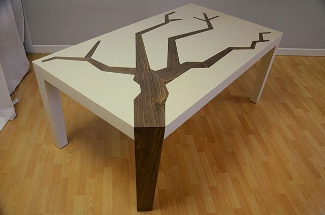 'Arbol' Dining Table #furniture #design #interiors #furnituredesign #interiordesign #wood #woodworking #decor #custom #customdesign #tree #againstthegrain #madeinla #madeinlosangeles #la #losangeles