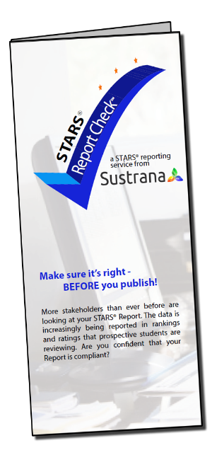 Sustrana STARS Report Check Brochure