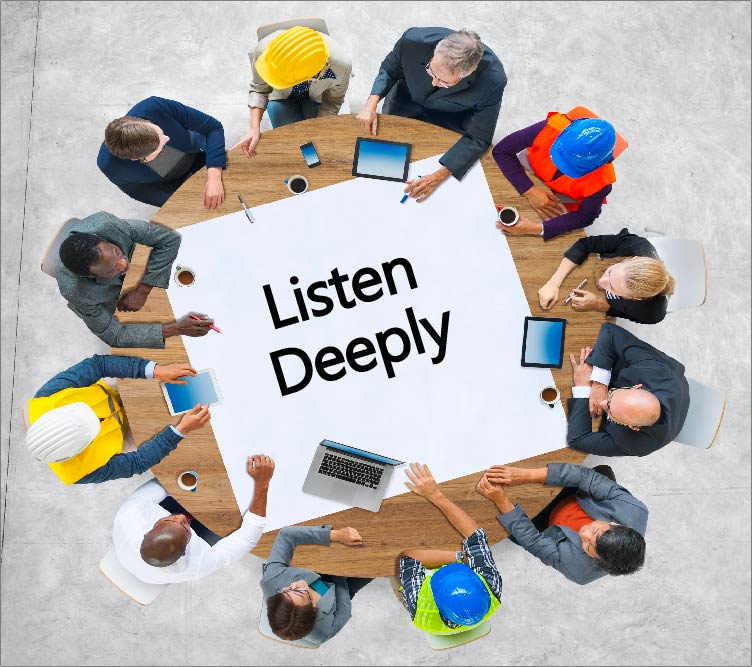 thumbnail Listening Deeply: How to be a Better Sustainability Professional, Sales Person, and Parent