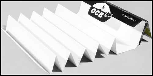 OCB was the first to offer rolling paper booklets with tips attached. We have kept with that style and offer all OCB varieties with tips attached. One tip for every paper in the pack.