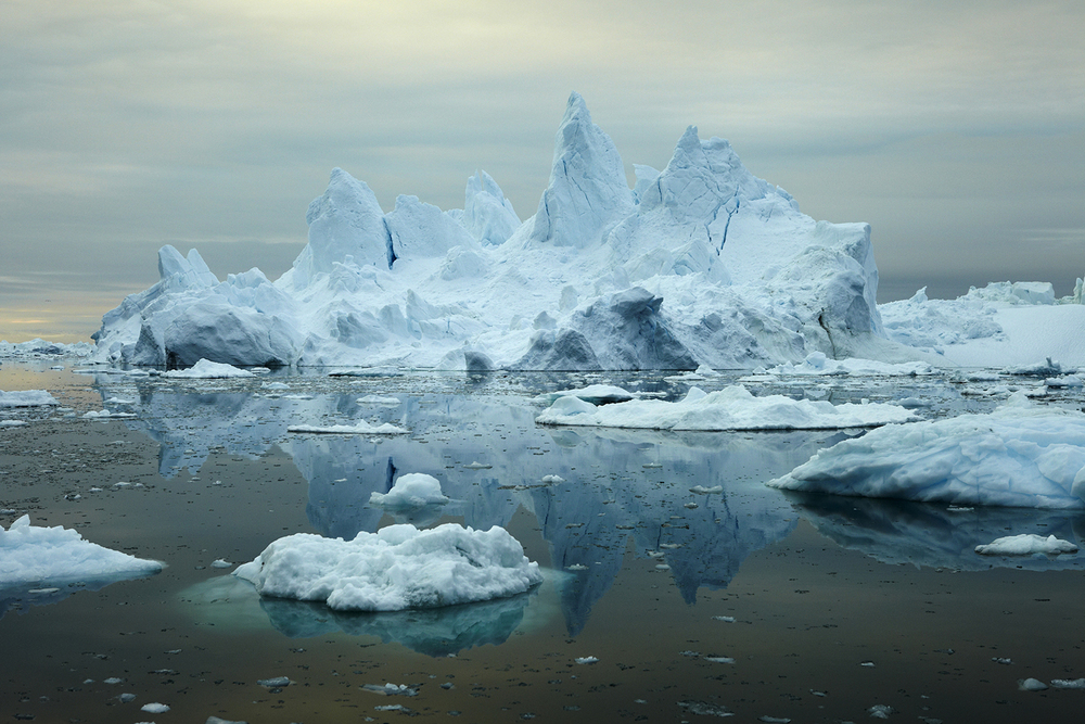 Iceberg #G354 Jonathan Pozniak 6 x 9, Edition of 5, signed and numbered Archival inkjet print