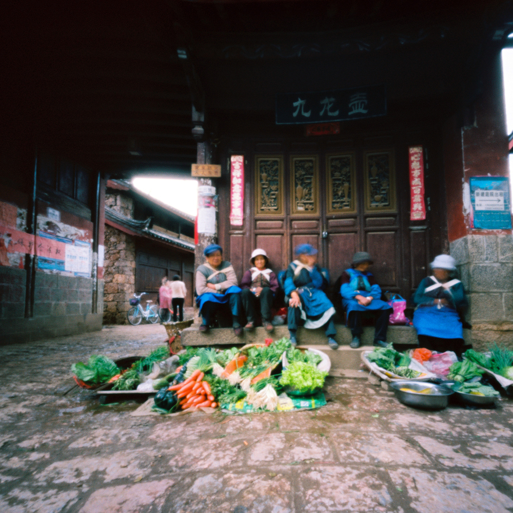 Vegetables for Sale, Baisha, China