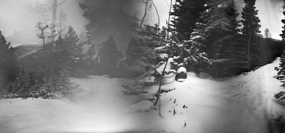 Sangre de Cristos in Snow
