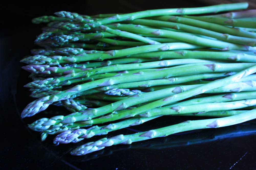 Splayed Asparagus