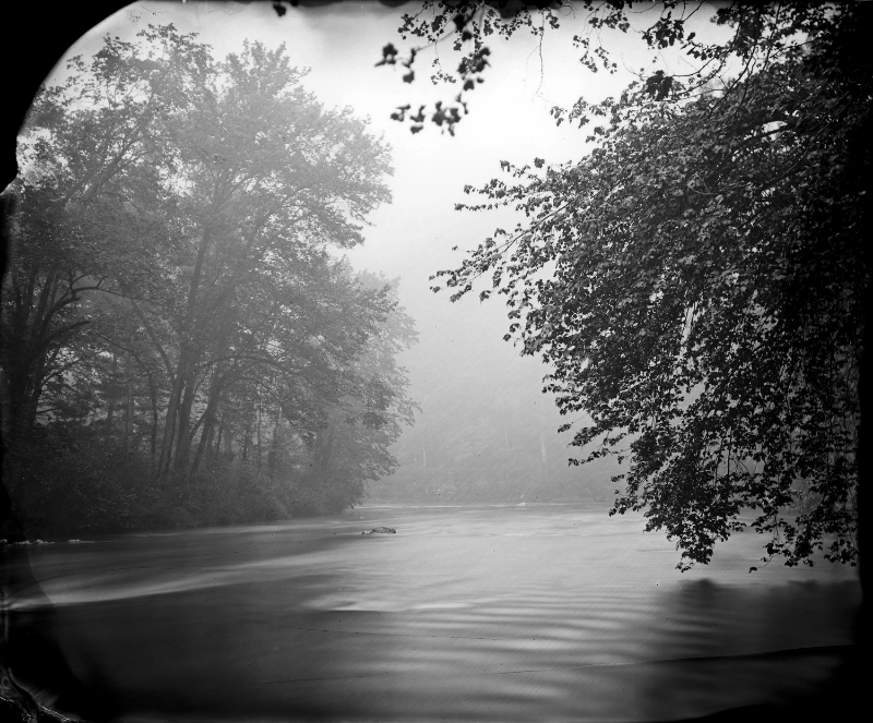 Rising Mist, Maury River, 2007