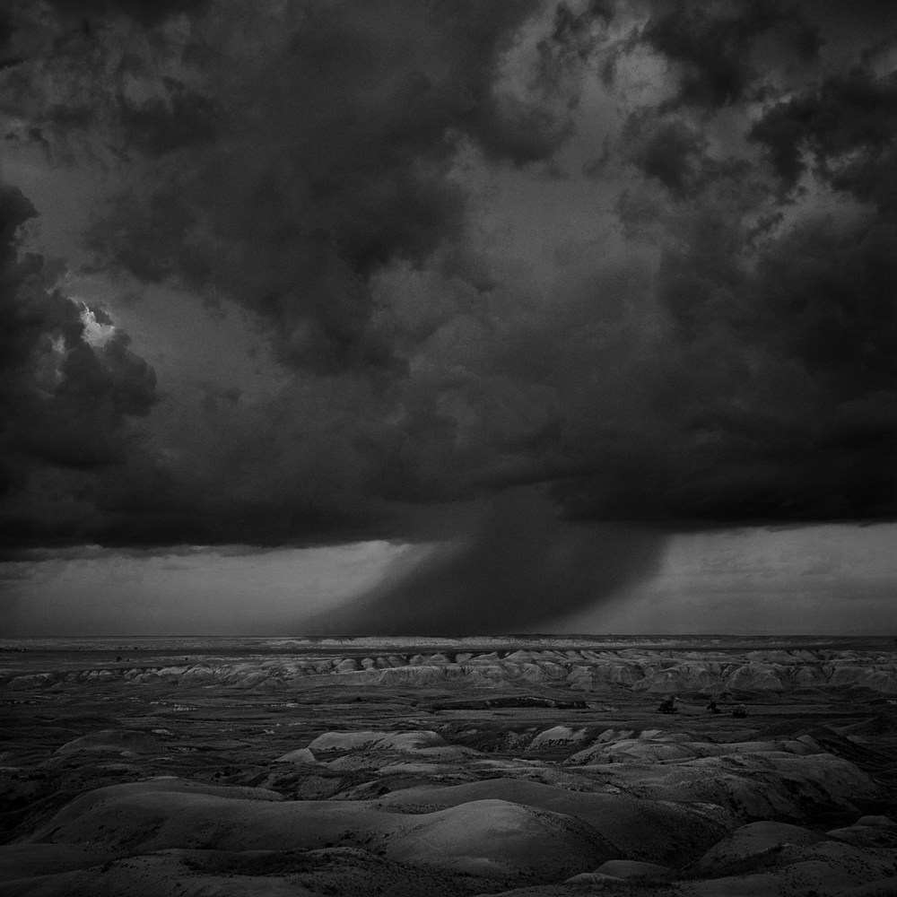 Badlands Rainstorm