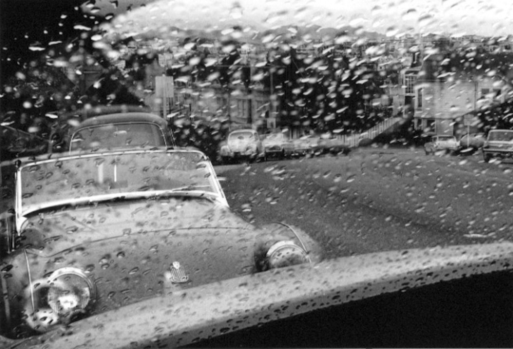 Rain, San Francisco, 1965, Harry Wilson