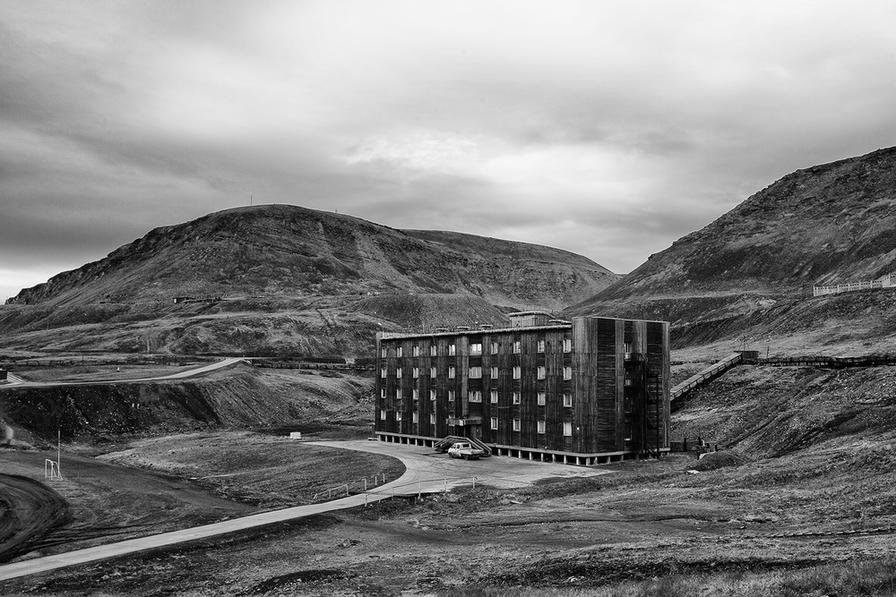 Halls for Miners from the series Northernmost Mines, Anna Filipova