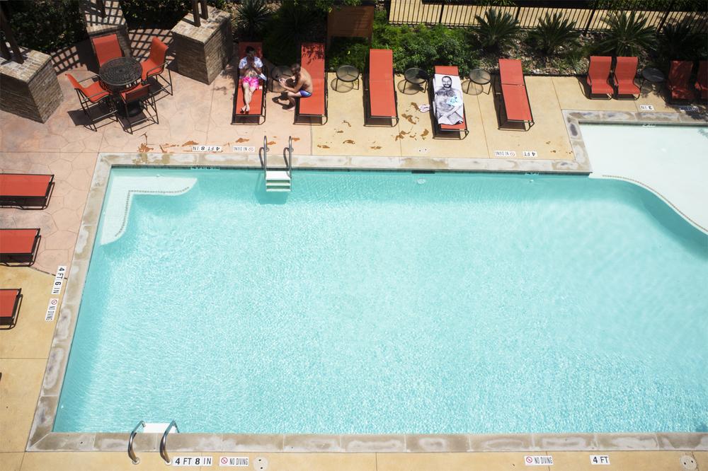 Pool  from the series  2x3 ,  Elizabeth Shear