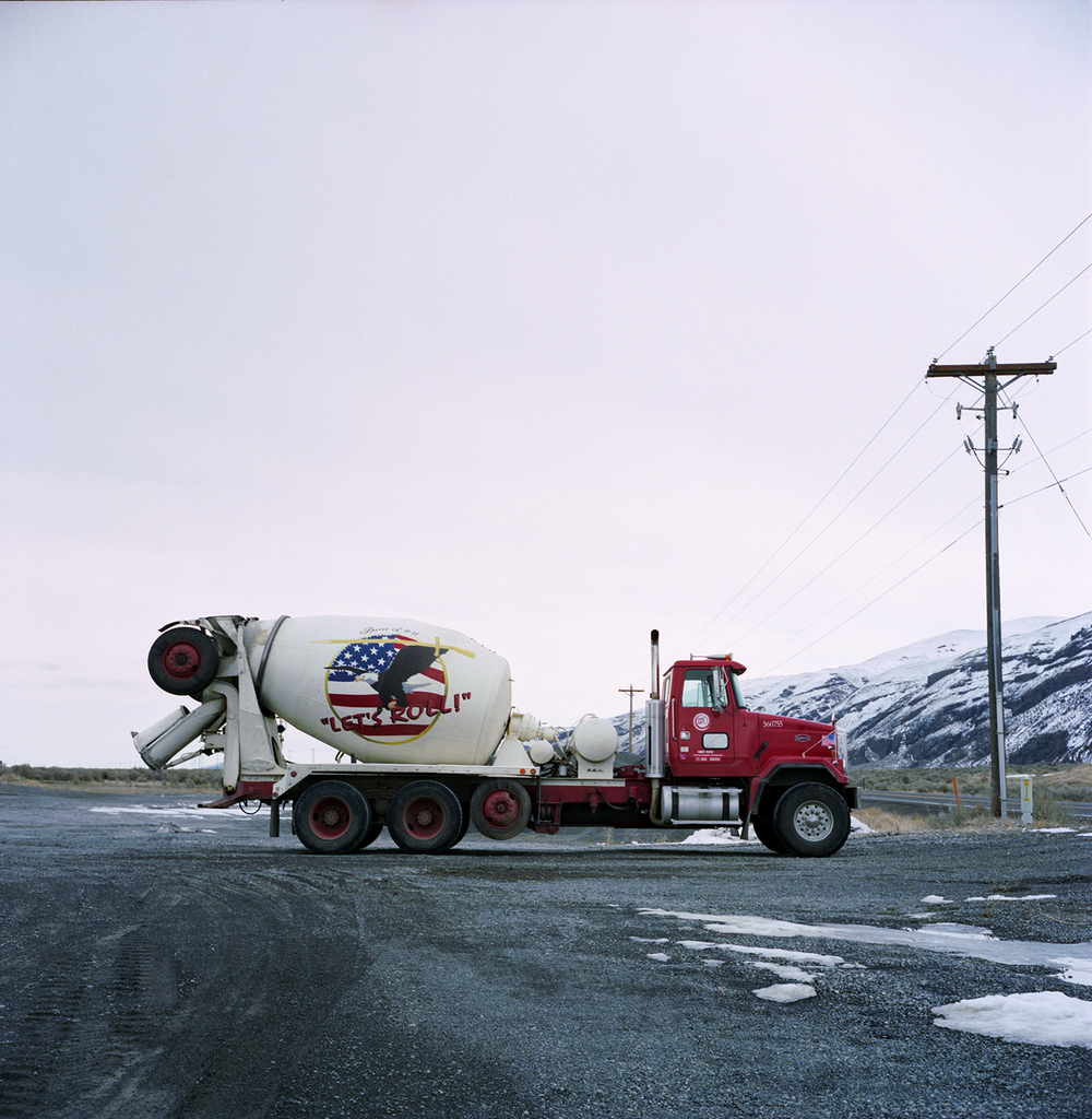 Cement Truck from the series Americana, Bootsy Holler