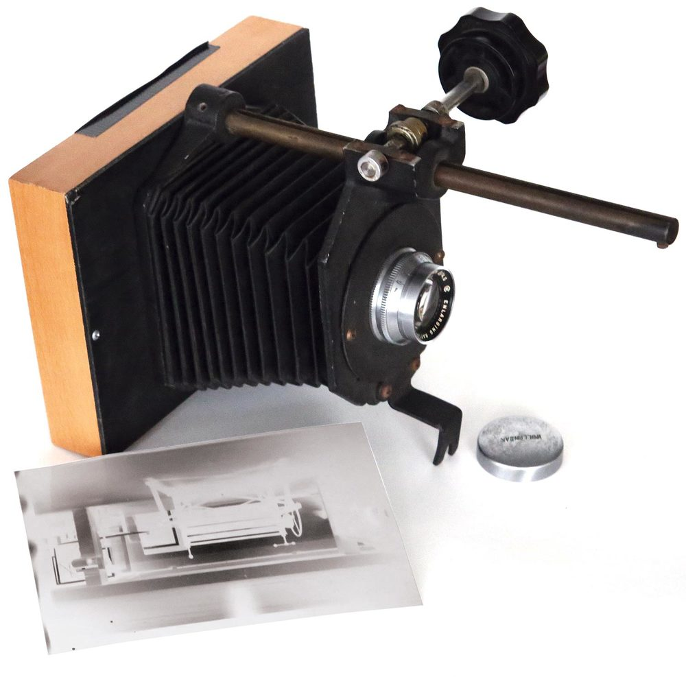 Enlarger camera