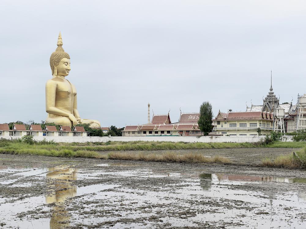 Grand Bouddha Sakayamunee, Ang Thong, Thailand (built in 2008), Colossess, Fabrice Fouillet