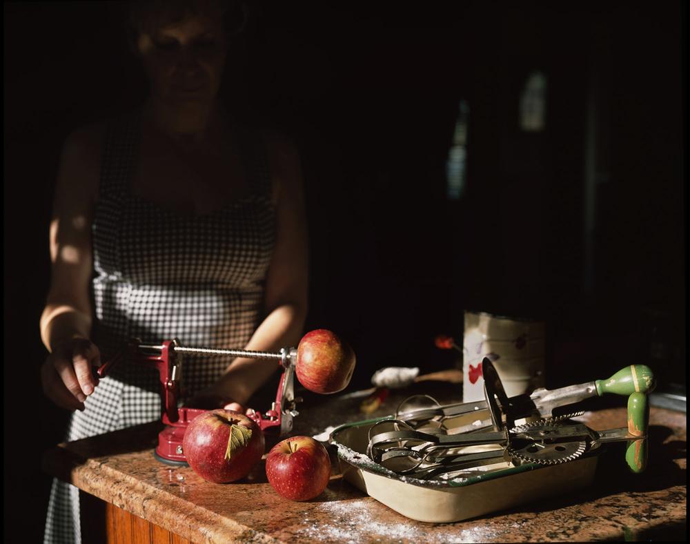 Skinning Apples