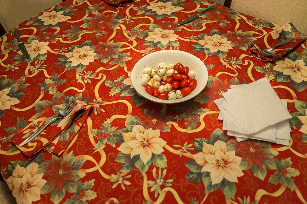 My Mother's Dinner Table, Buffalo, NY, Kevin Michael Klipfel