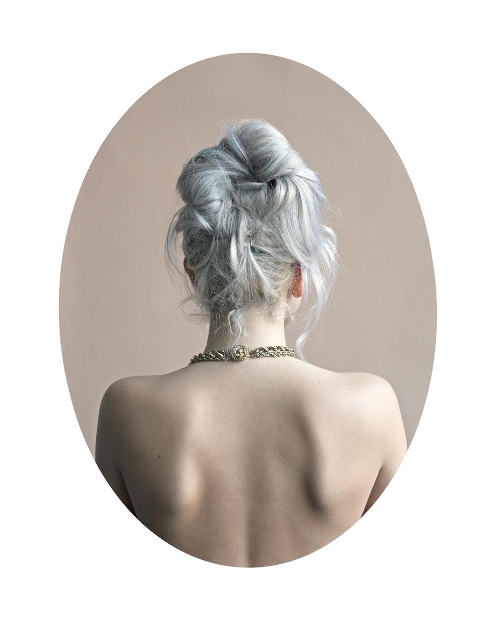 Devon (Silver)  from the series  A Modern Hair Study ,  Tara Bogart