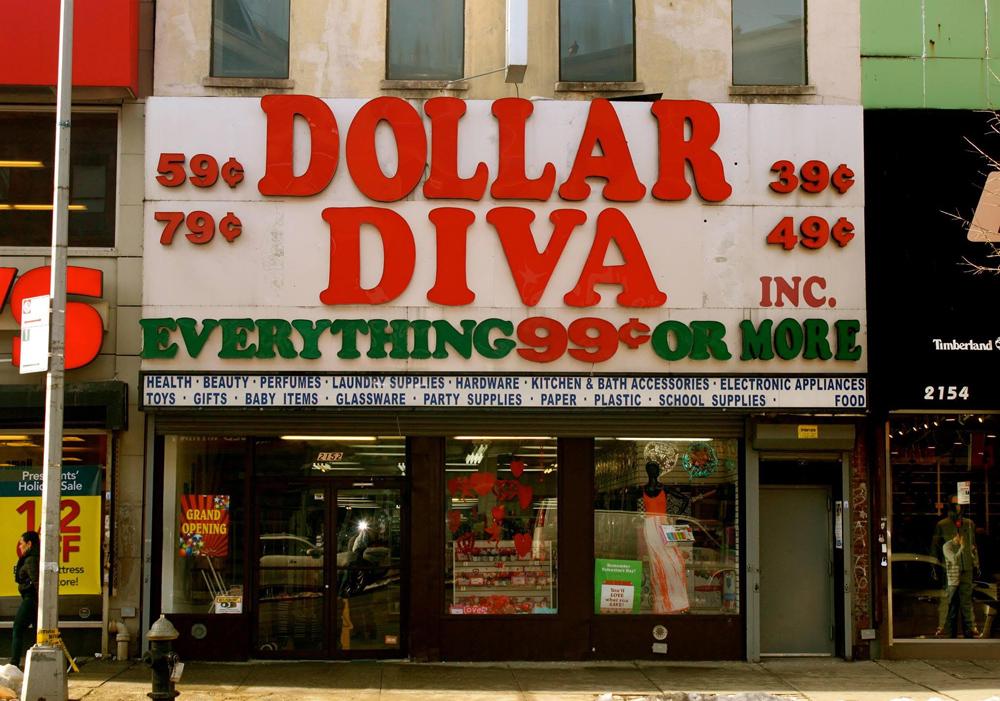 Dollar Diva, 2015, East Harlem, NYC