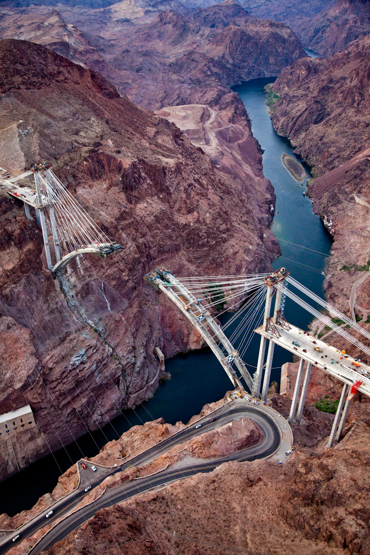 The Bridge at Hoover Dam ,  Jamey Stillings