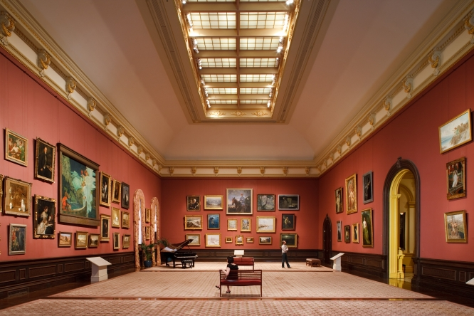 Renwick Gallery - Grand Salon. Photo: Ron Blunt via  Smithsonian Institution