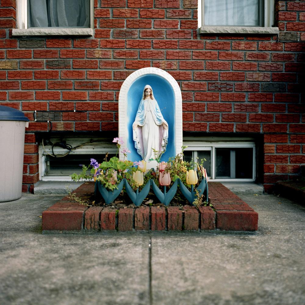 Flower Border from the series Streetside Religion, Eliza Lamb