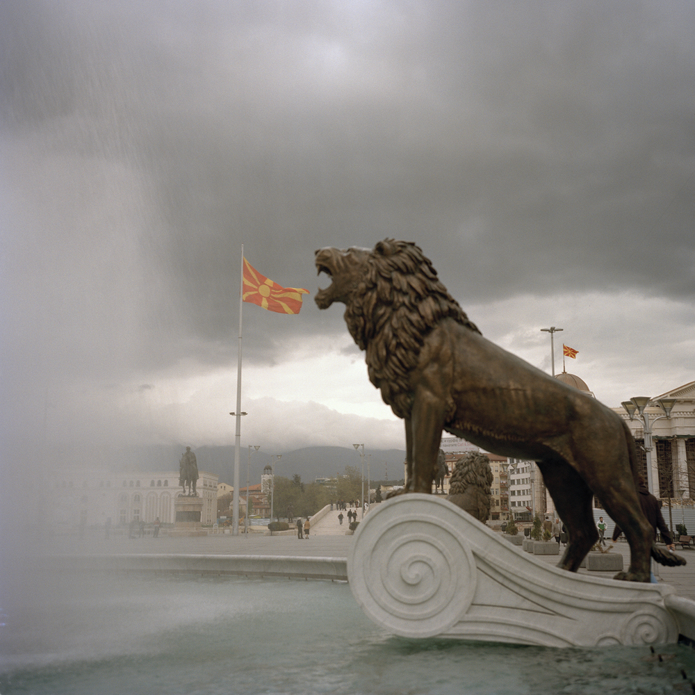 Skopje, Macedonia from the series YU: The Lost Country, Dragana Jurisic