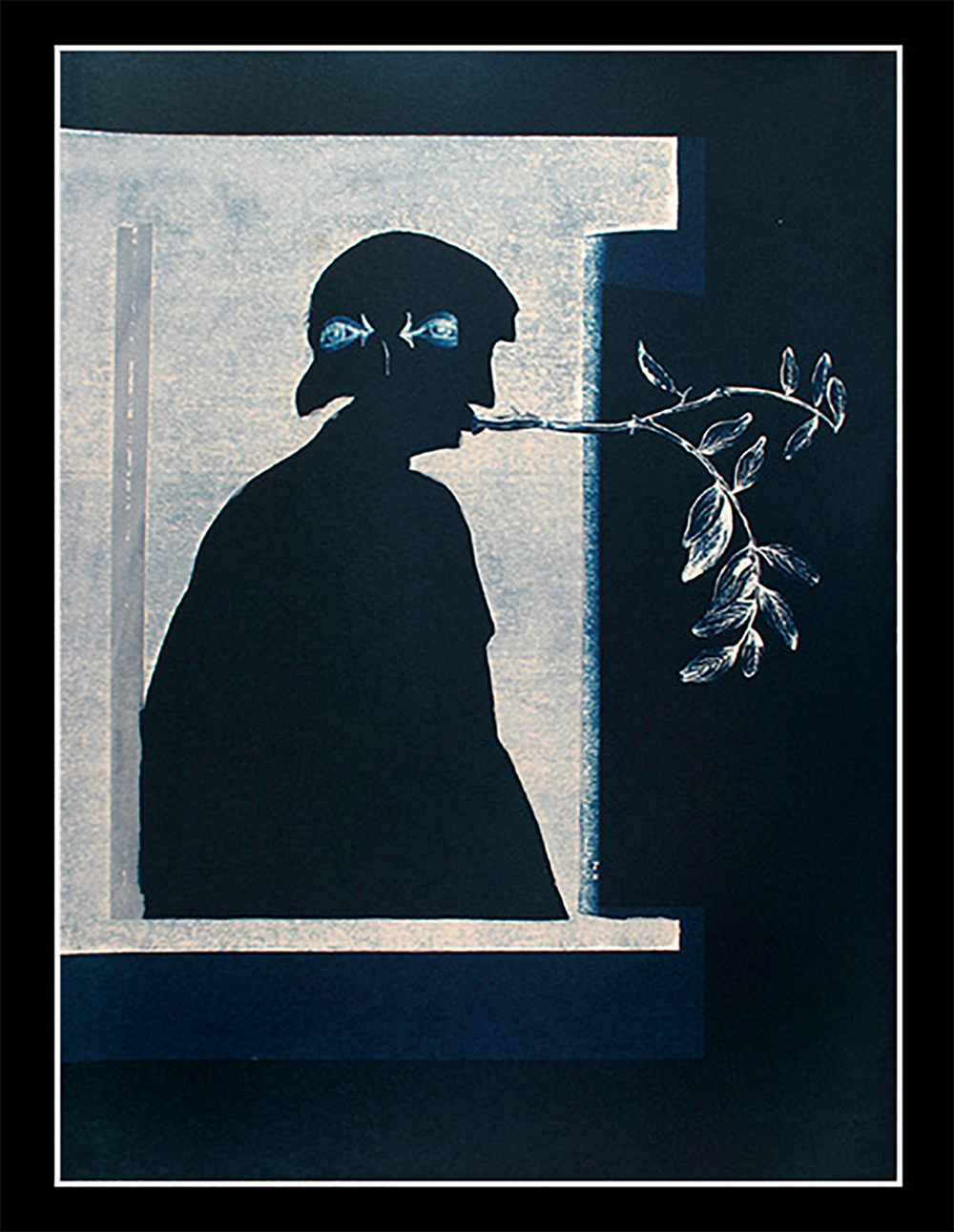 Flute (cyanotype) ,  Brenton Hamilton