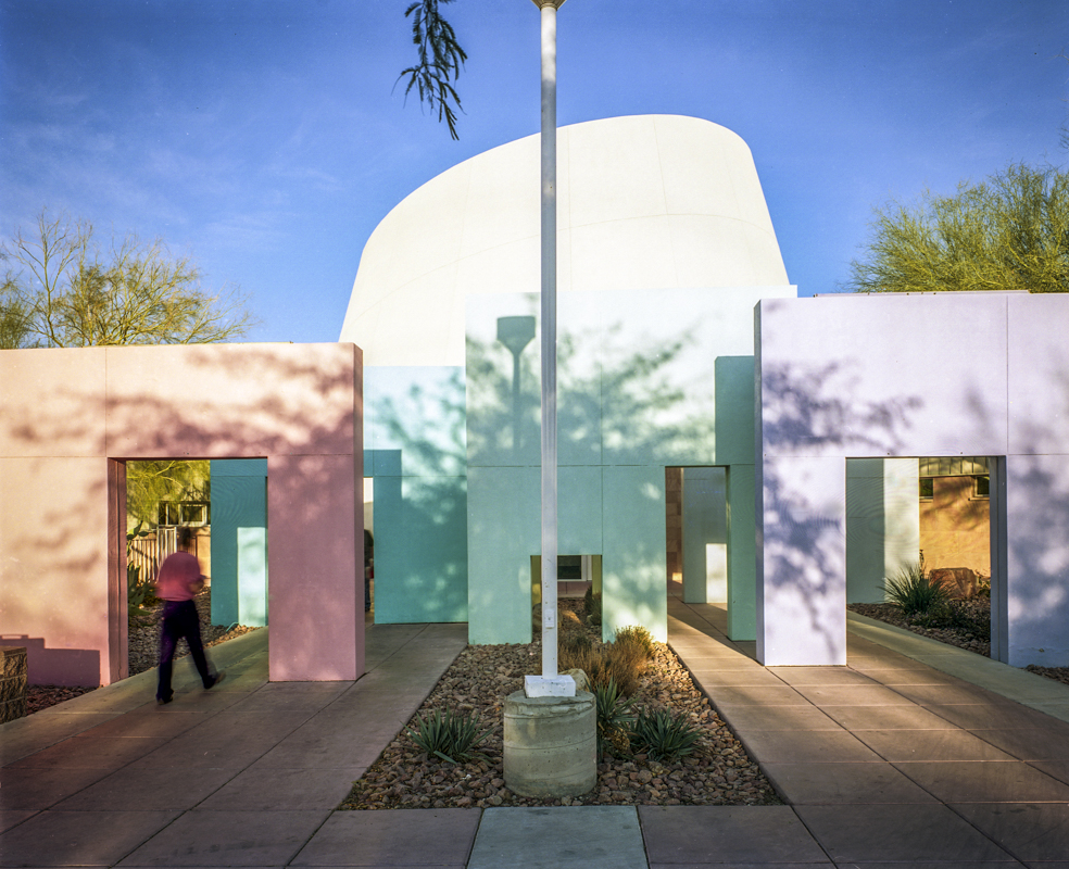 Entrance, Rainbow Branch Library, Las Vegas, NV. Photograph by Robert Dawson ©2012. Library of Congress Prints and Photographs Division