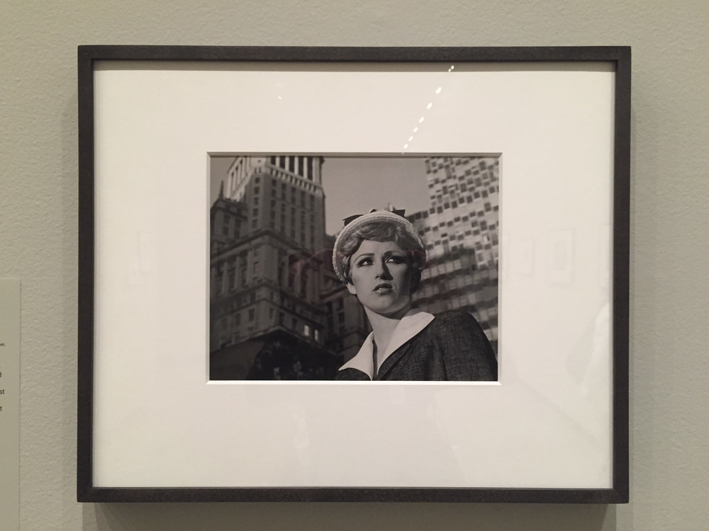 Cindy Sherman, Still from an Untitled Film, 1978. Photo by the author.