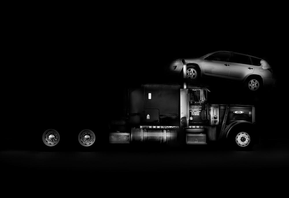 Car Hauler #4, 2013, Michael Massaia