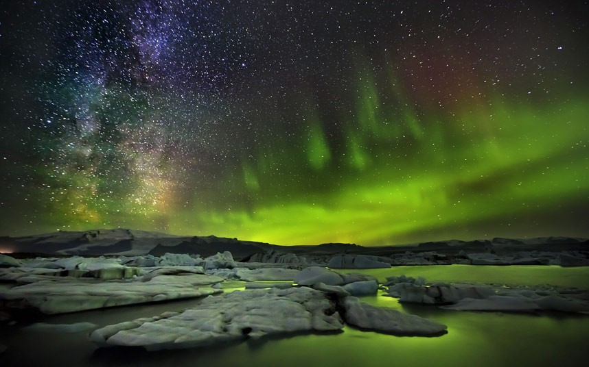 Northern Lights & The Milky Way