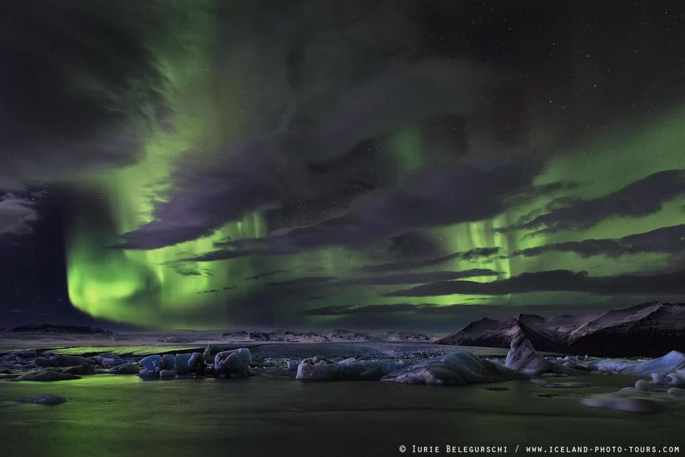 Aurora Borealis, Iceland, Winter