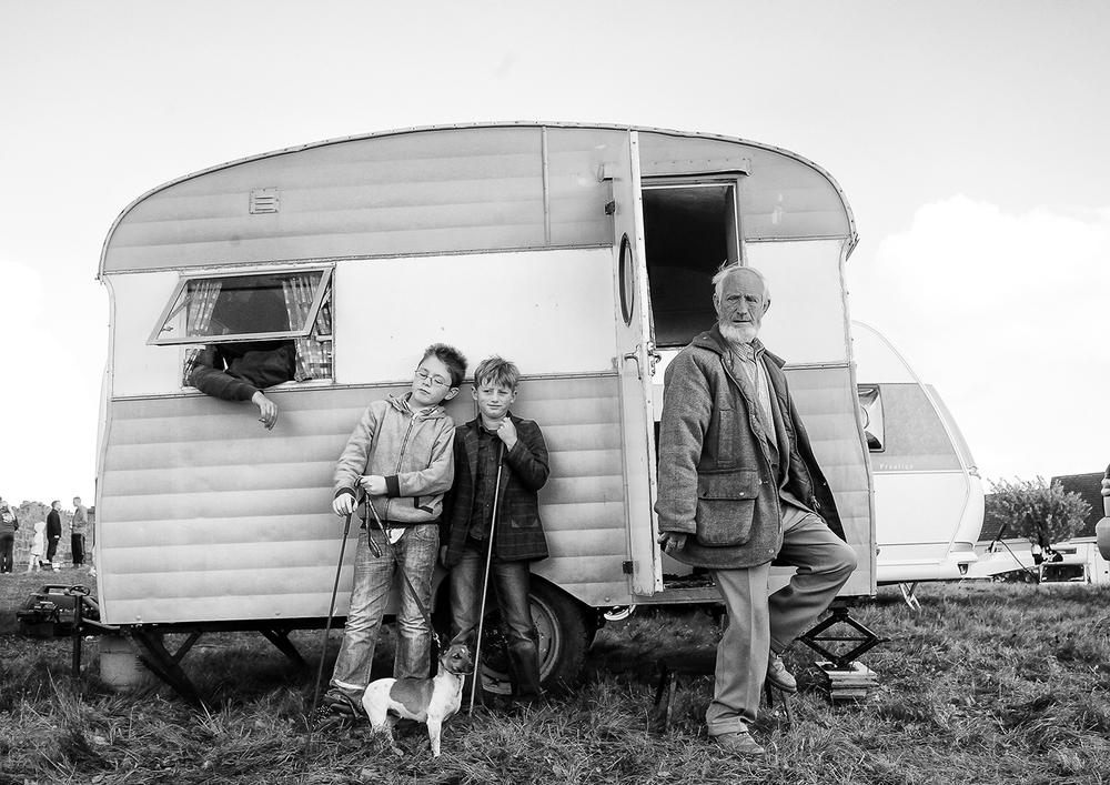 Irish Travellers, Ballinsloe Ireland ,  Jamie Johnson