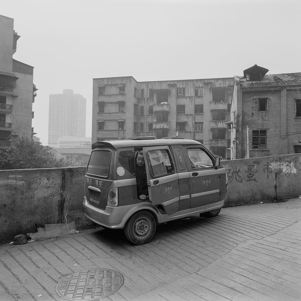Untitled  from the series  Chongqing II ,  Hua Weicheng