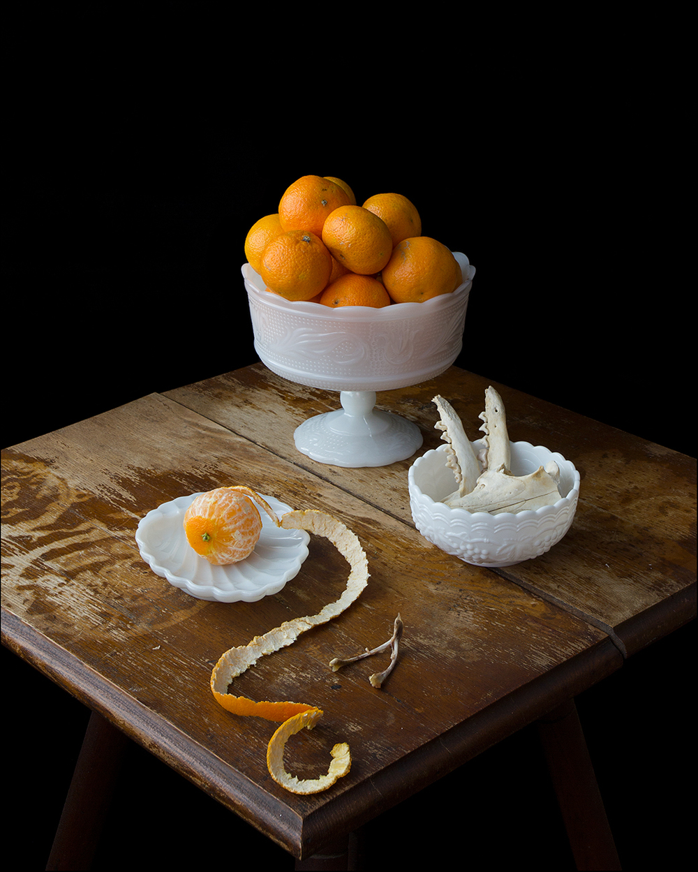On Ripeness and Rot #20 (Clementines and Fox Bones)