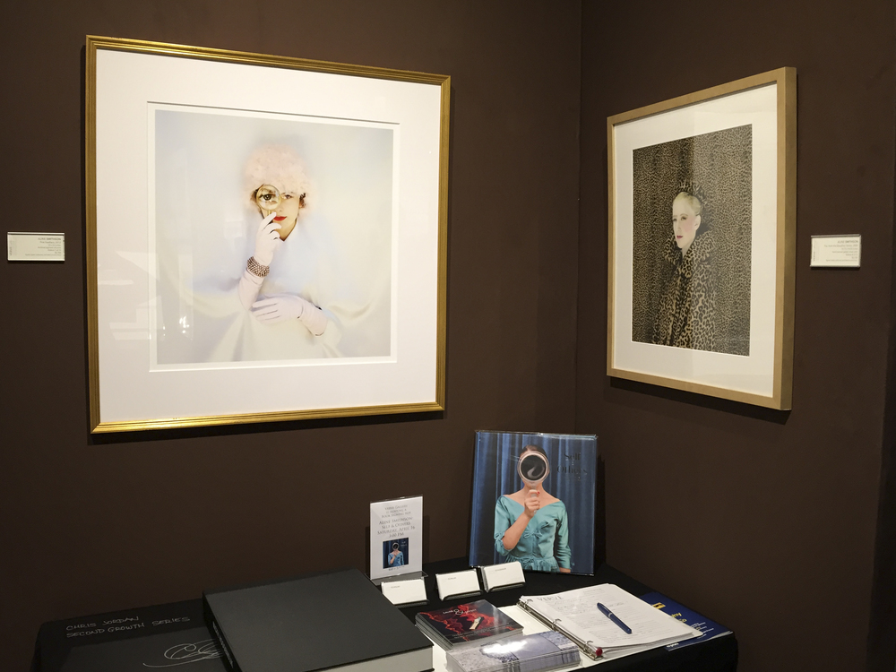 Aline Smithson on view at Verve Gallery, AIPAD