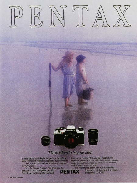 1980, Pentax