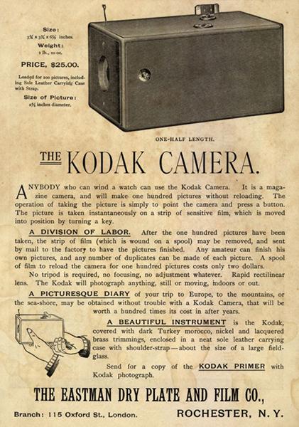 1888, Kodak