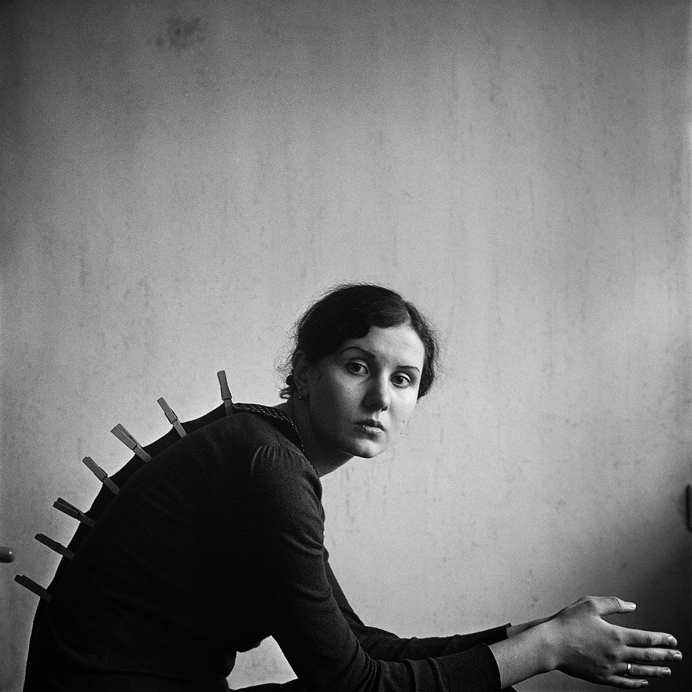 Katerina (portrait with a 'comb'), Alexander Veledzimovich