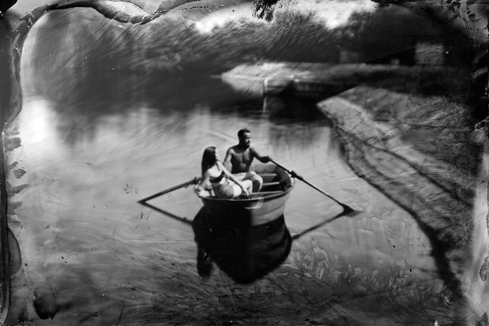 Wet Plate at the Lake II