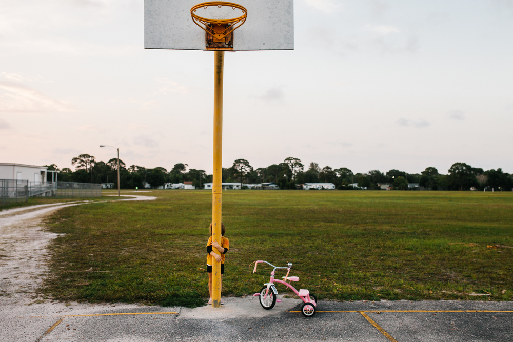 Basketball Court, Lauren Mitchell