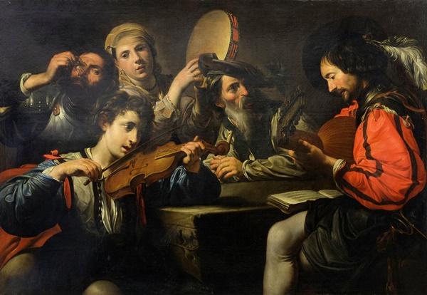 Battle Scene , Aniello Falcone