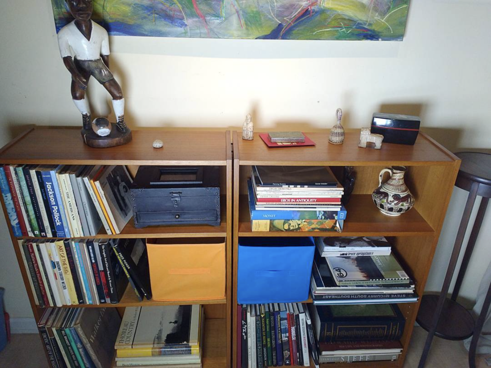 George Elsasser 's neat-and-tidy photobook library. (Submitted via Instagram by  @georgeelsasser )