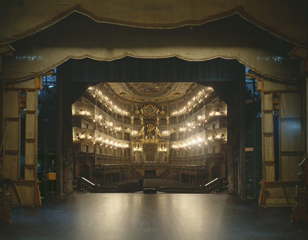 Klaus Frahm Markgräfliches Opernhaus, Bayreuth Archival pigment print 8 x 10, signed and numbered edition of 5 $96