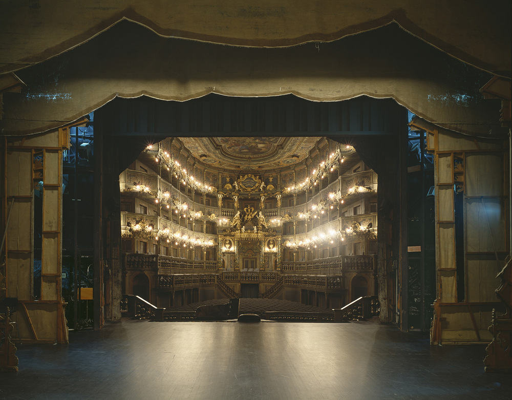 Markgräfliches Opernhaus, Bayreuth   Klaus Frahm  Archival pigment print 8 x 10, signed and numbered Edition of 5