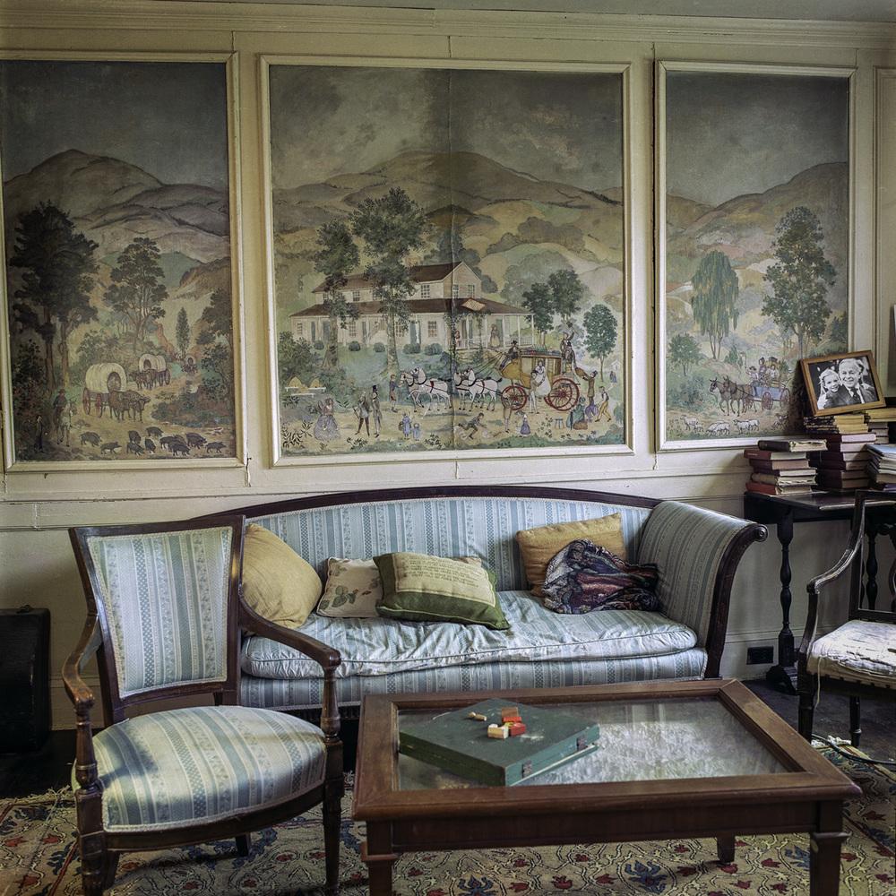 Mural Room from the series Useful Work, Ken Abbott