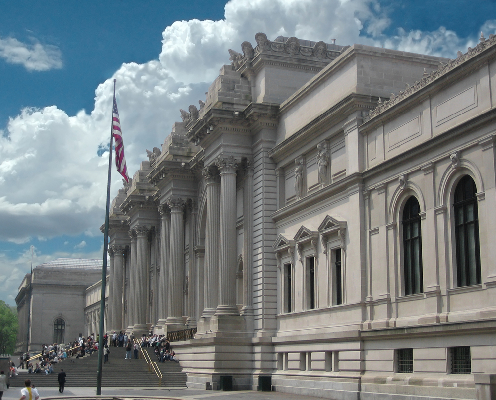 The Metropolitan Museum of Art. Photo by Arad via  Wikimedia commons .